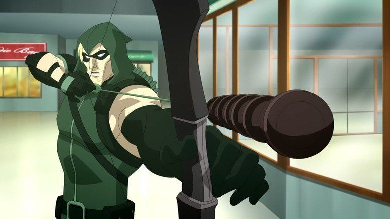 DC Showcase: Green Arrow movie scenes