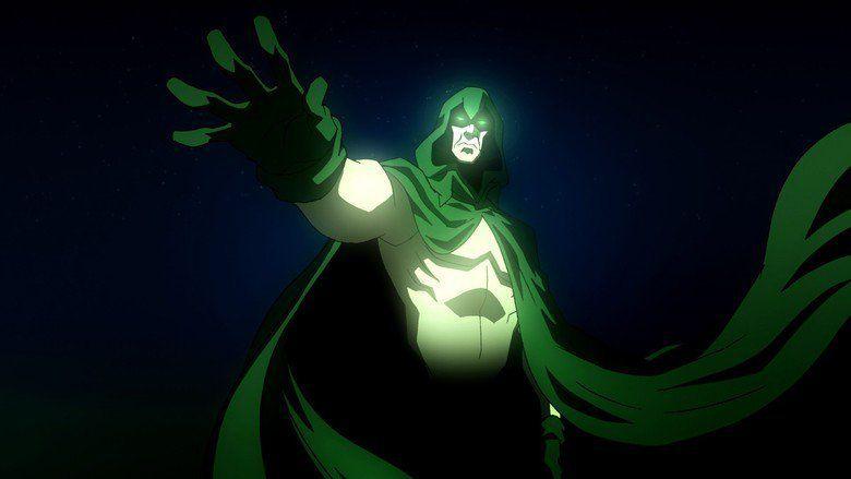 DC Showcase: The Spectre movie scenes