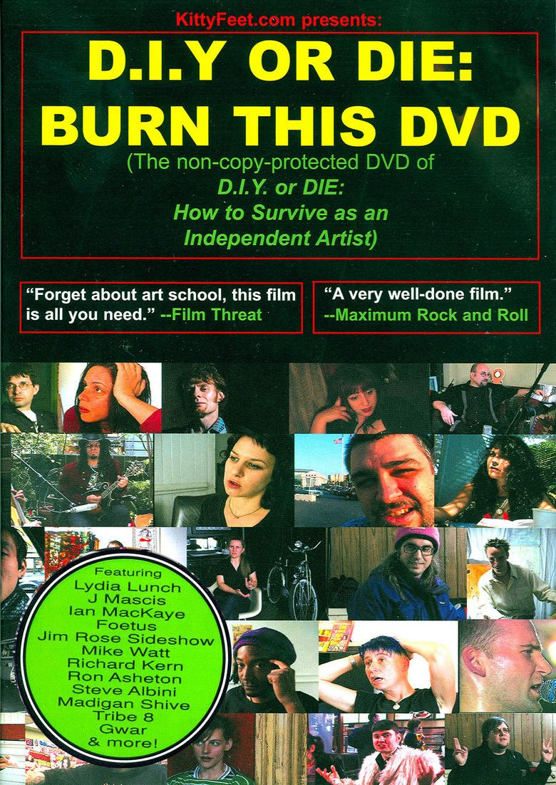 DIY or Die: How to Survive as an Independent Artist movie poster