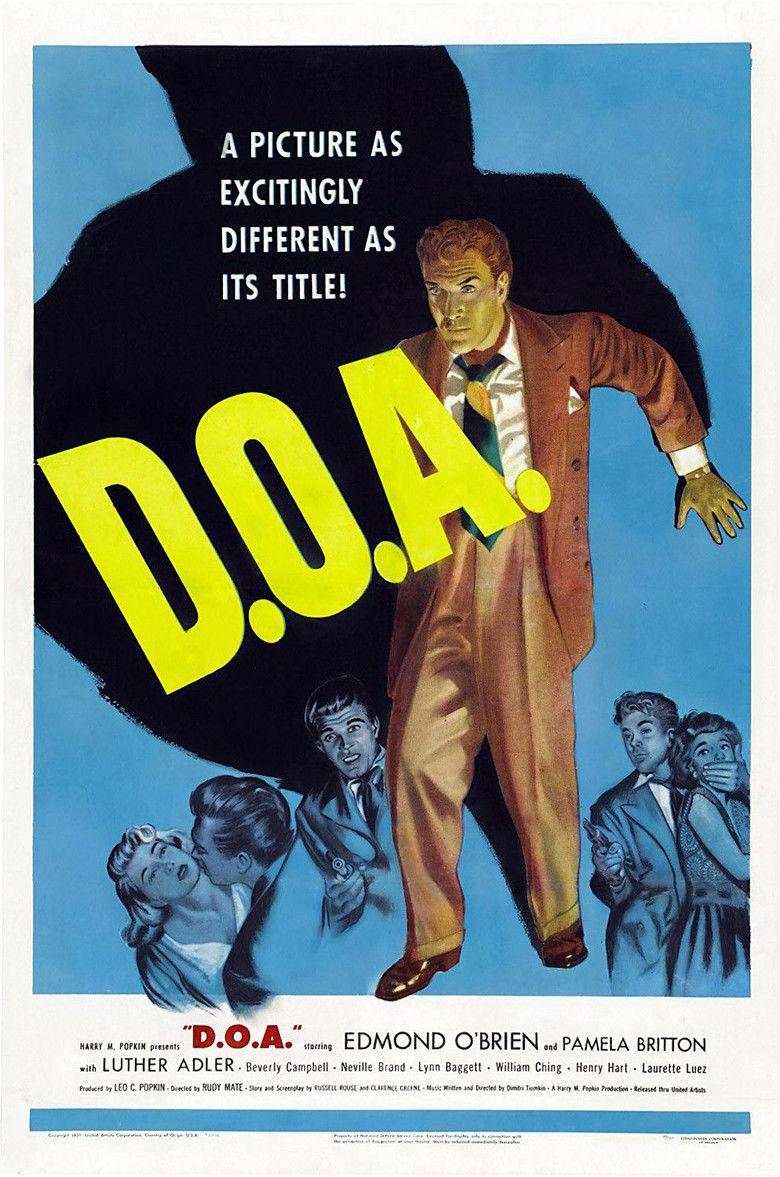 DOA (1950 film) movie poster