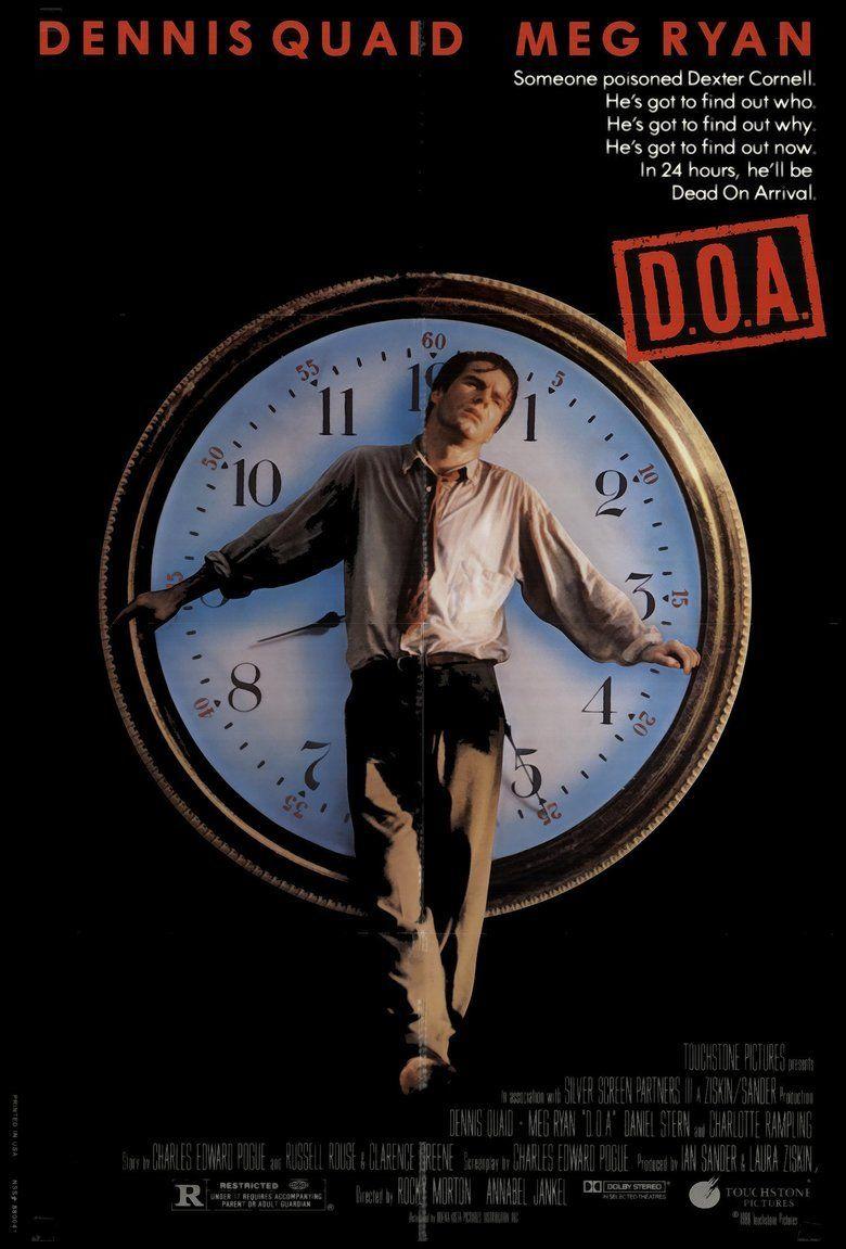 DOA (1988 film) movie poster
