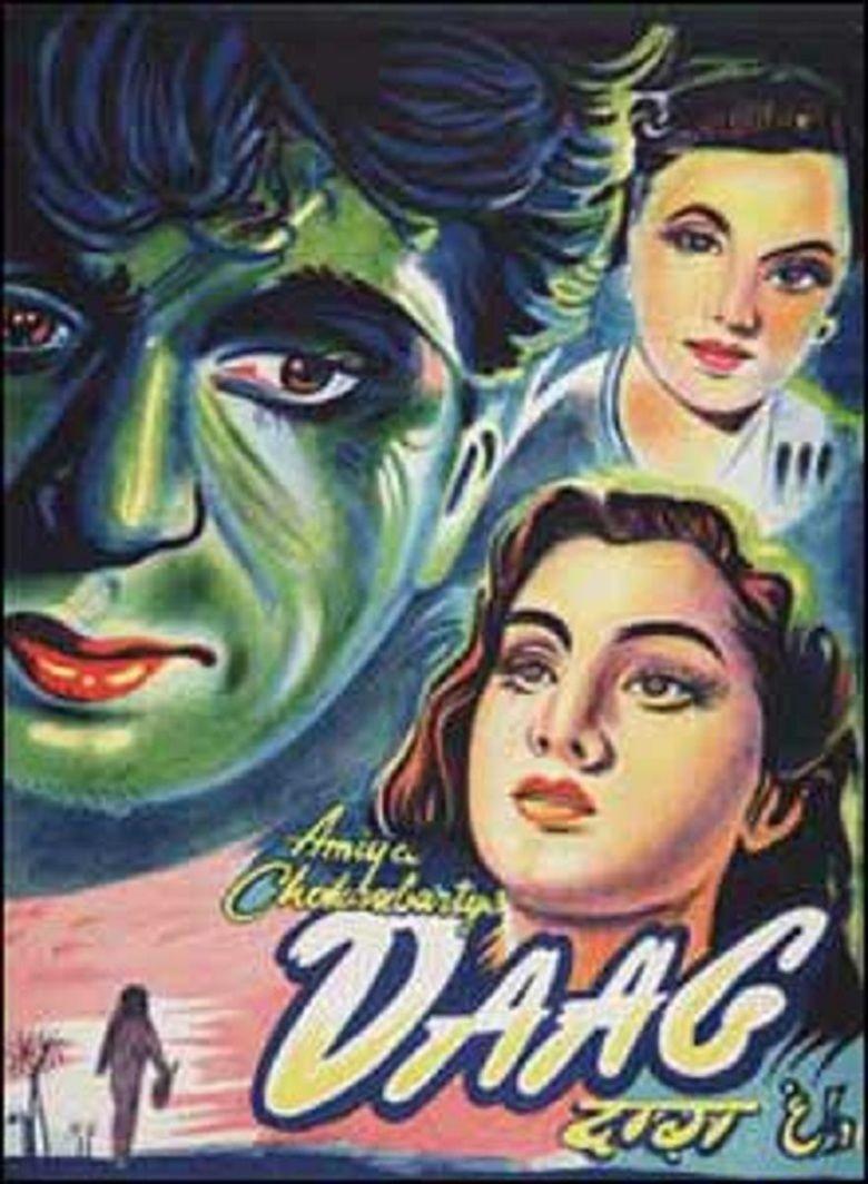 Daag (1952 film) movie poster