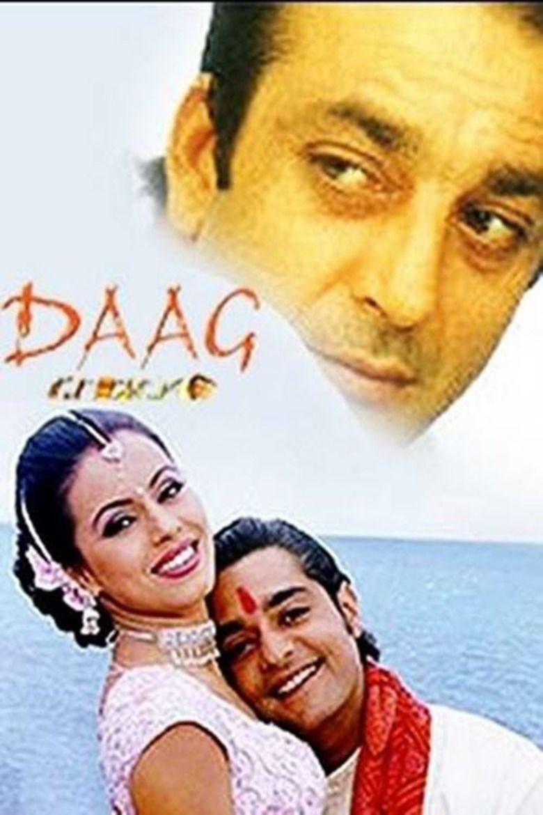 Daag: The Fire movie poster