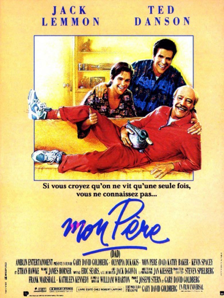 Dad (film) movie poster