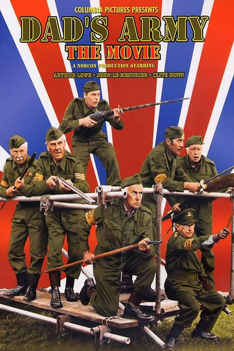 Dads Army (1971 film) movie poster
