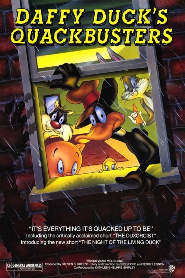 Daffy Ducks Quackbusters movie poster