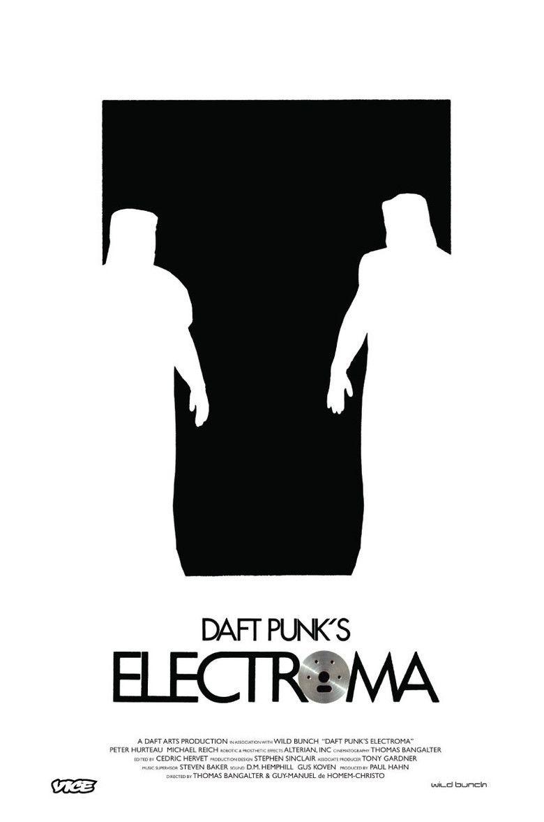 Daft Punks Electroma movie poster