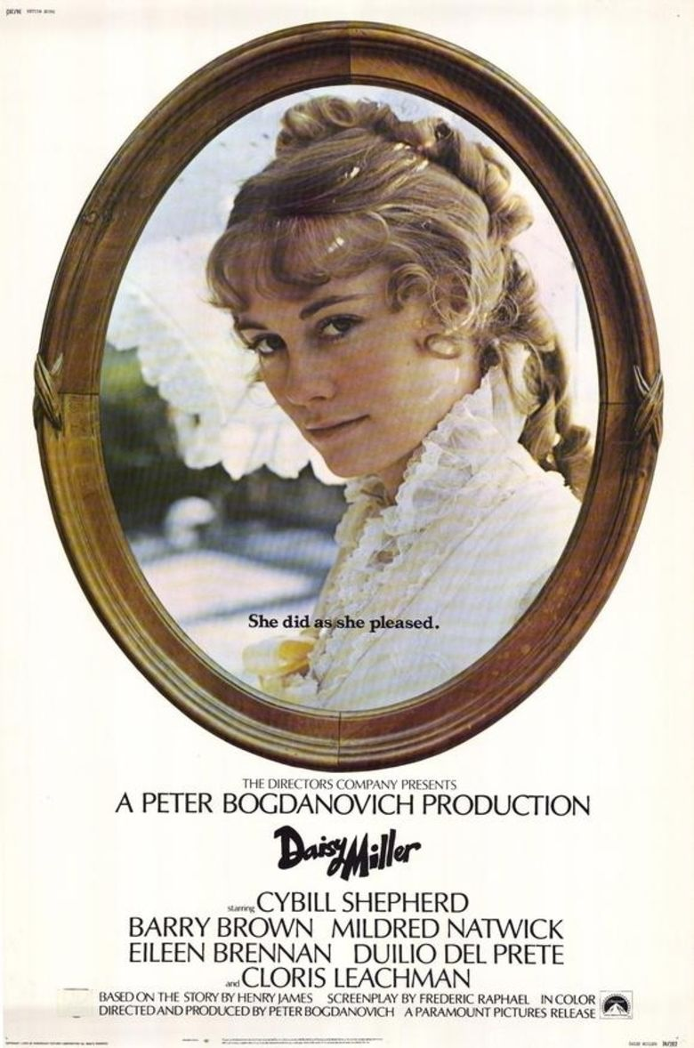 daisy miller film the social encyclopedia daisy miller film movie poster