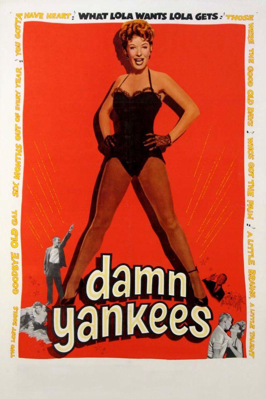 Damn Yankees (film) movie poster