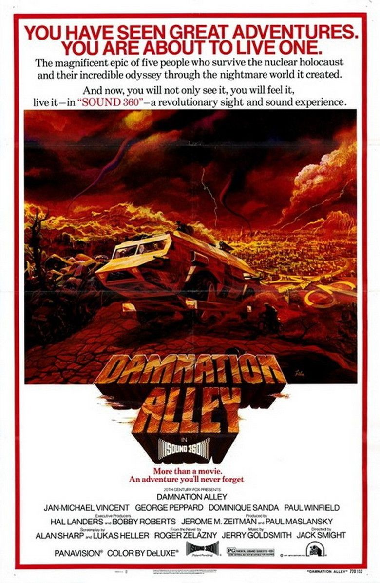 Damnation Alley (film) movie poster