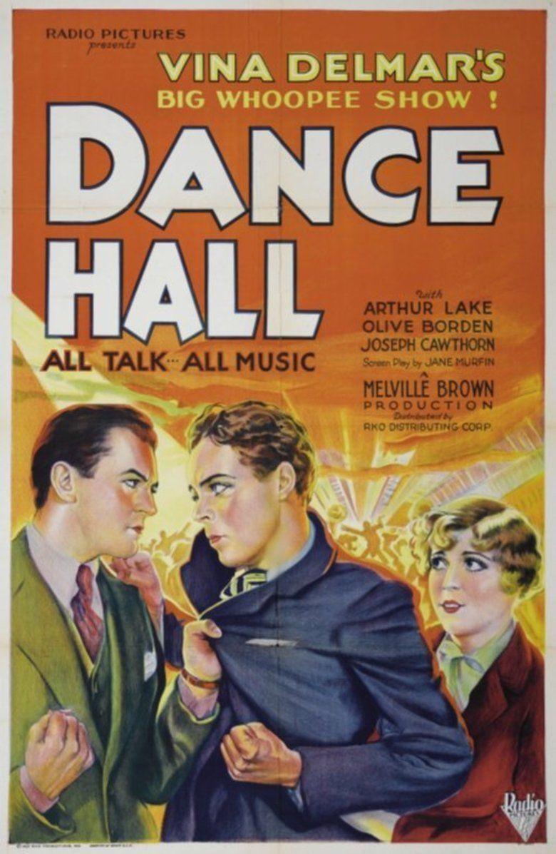 Dance Hall (1929 film) movie poster