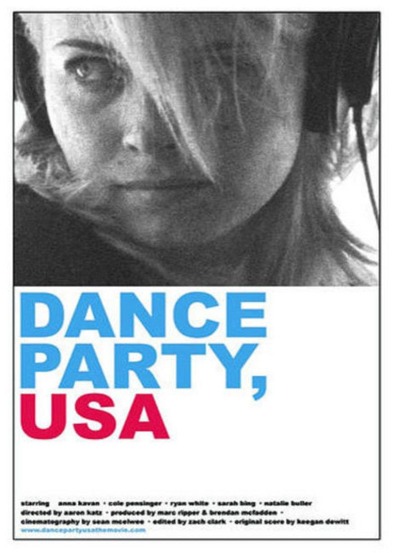 Dance Party USA (film) movie poster