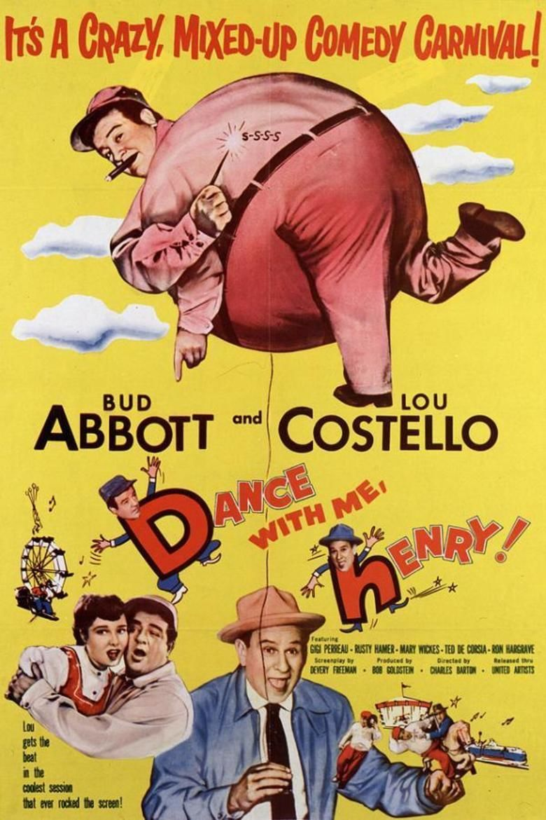 Dance with Me, Henry movie poster