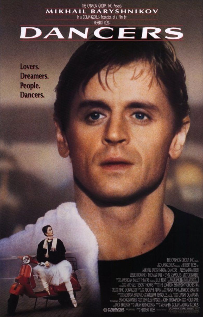 Dancers (film) movie poster