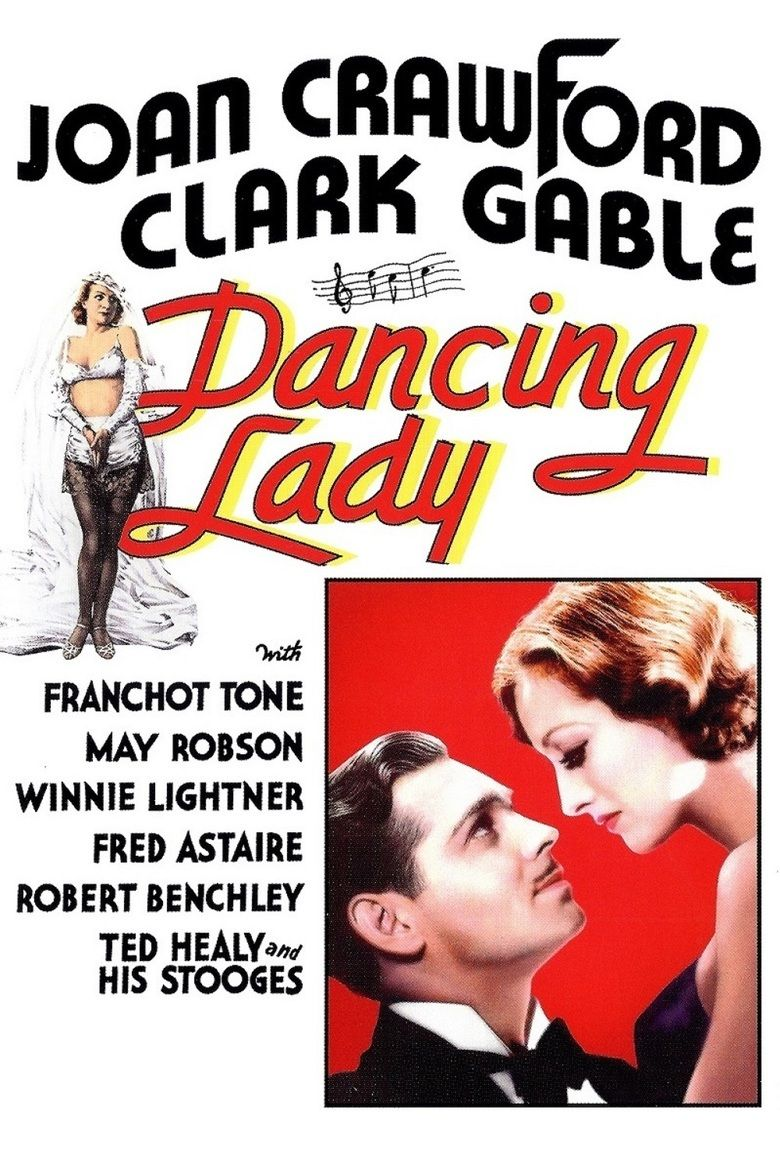 Dancing Lady movie poster
