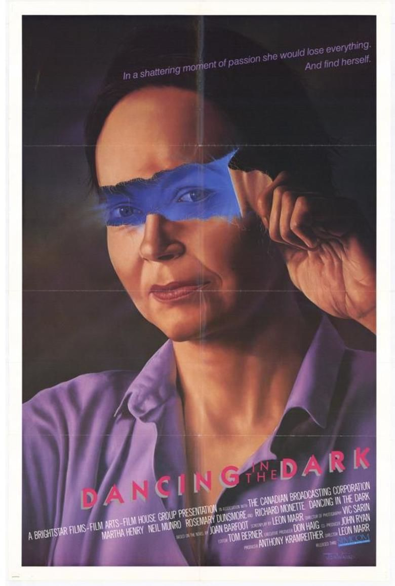 Dancing in the Dark (1986 film) movie poster