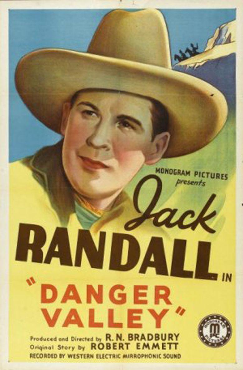 Danger Valley movie poster