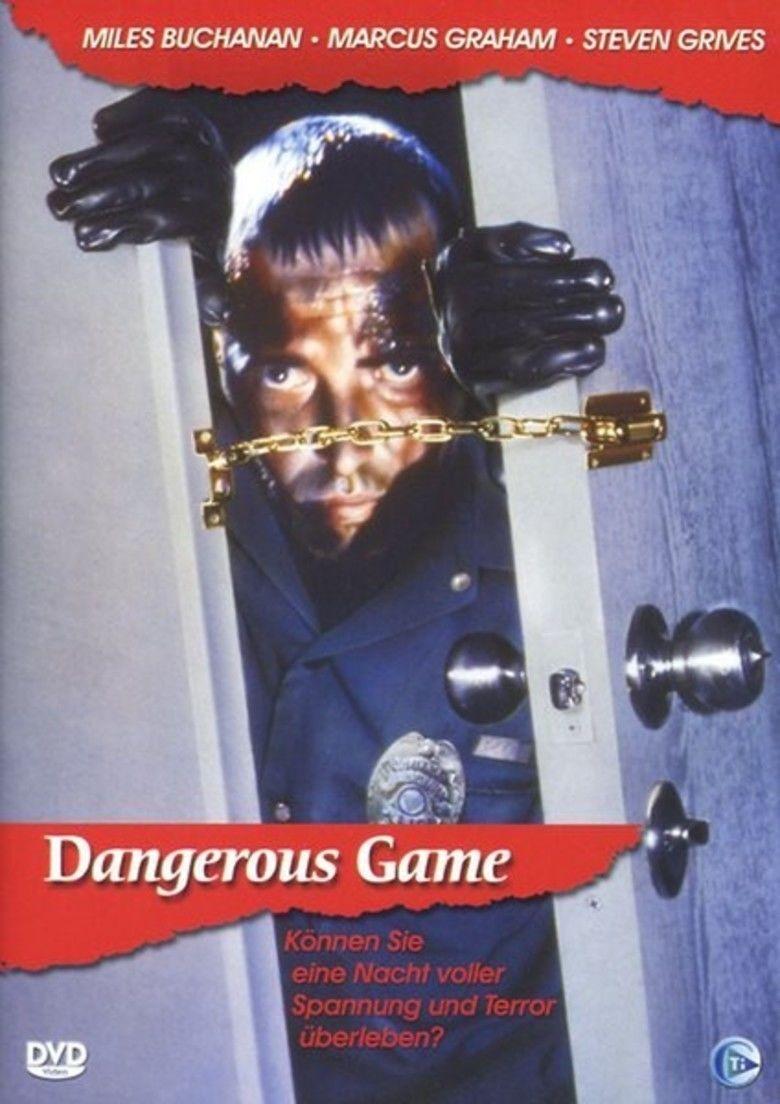 Dangerous Game (1987 film) movie poster