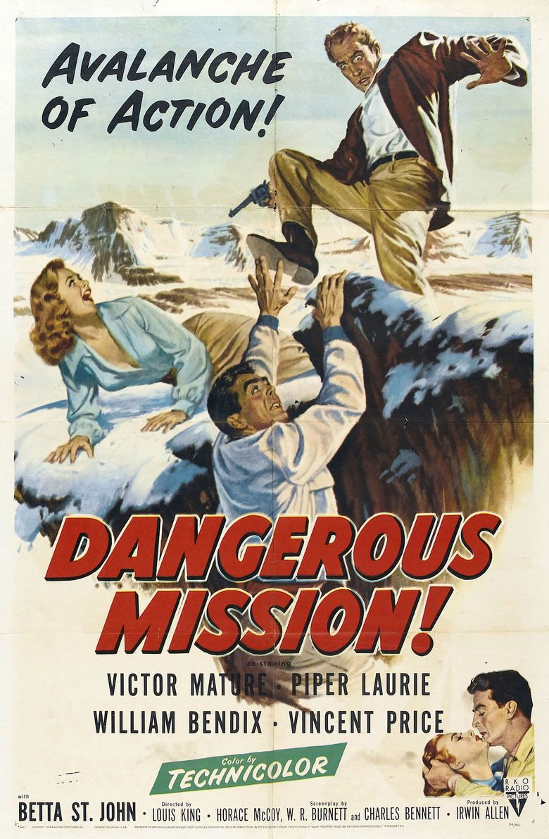 Dangerous Mission movie poster