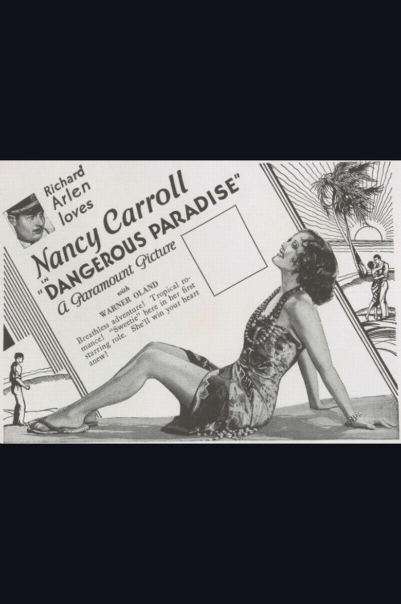 Dangerous Paradise movie poster
