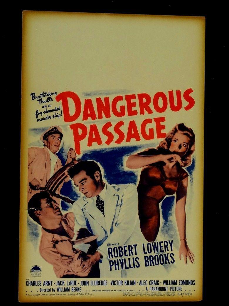 Dangerous Passage movie poster