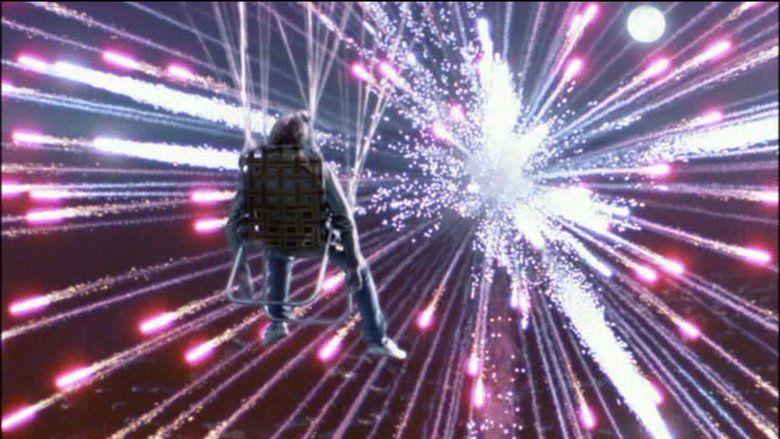 Danny Deckchair movie scenes