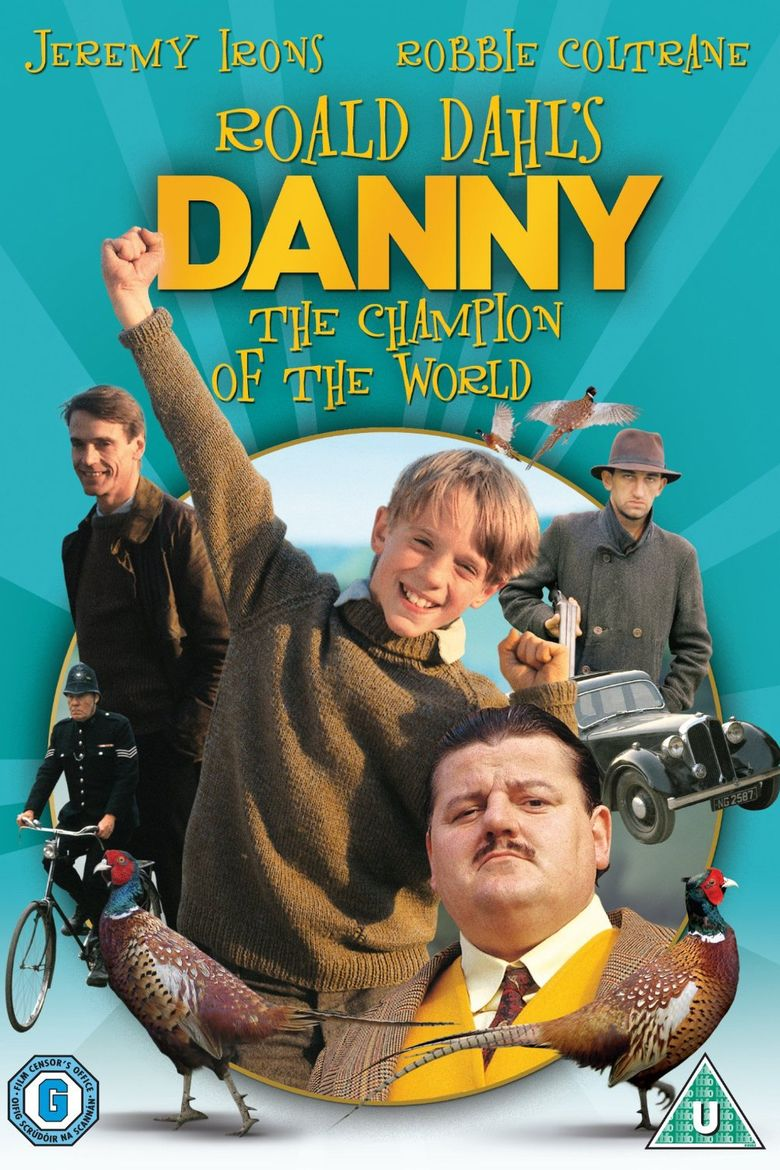 Danny, the Champion of the World (film) movie poster