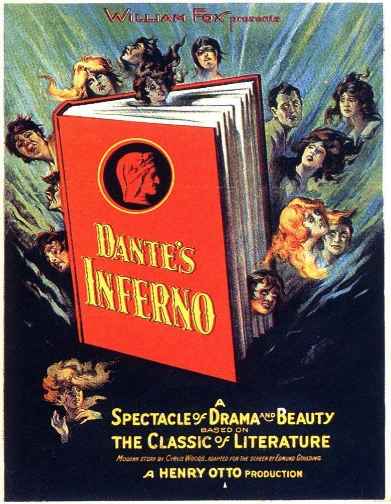 Dantes Inferno (1924 film) movie poster