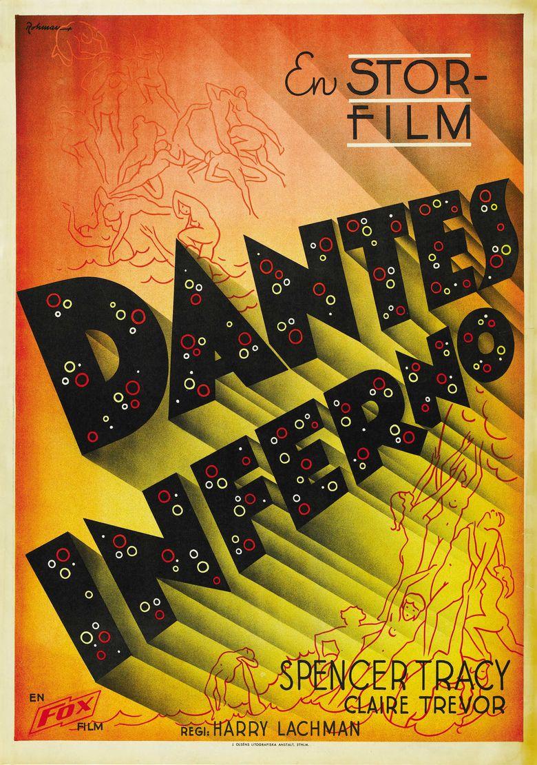 Dantes Inferno (1935 film) movie poster