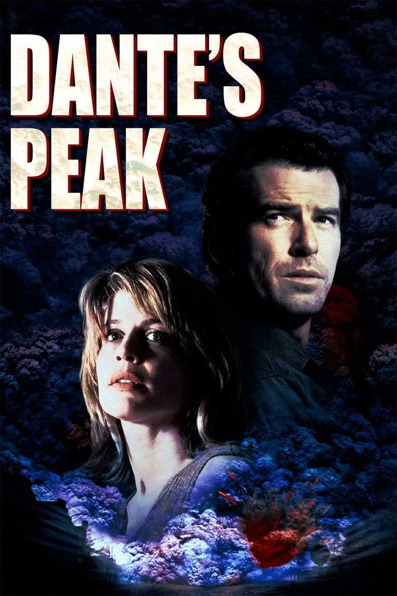 Dantes Peak movie poster