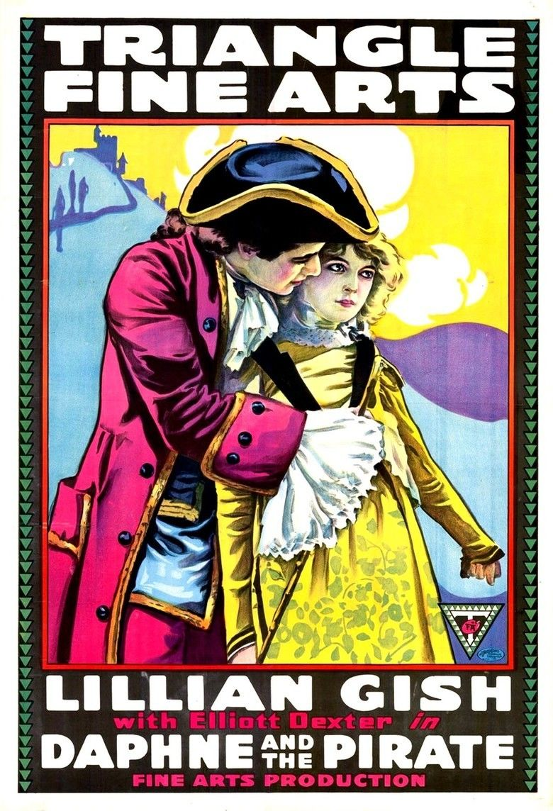 Daphne and the Pirate movie poster
