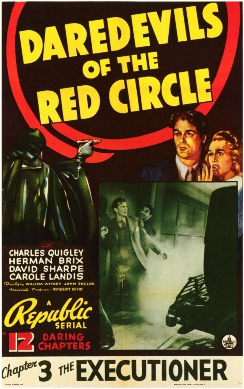 Daredevils of the Red Circle movie poster