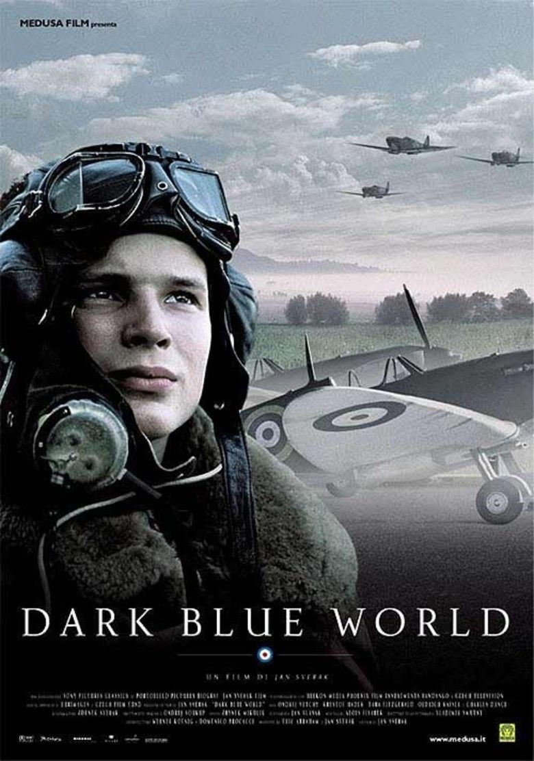 Dark Blue World movie poster