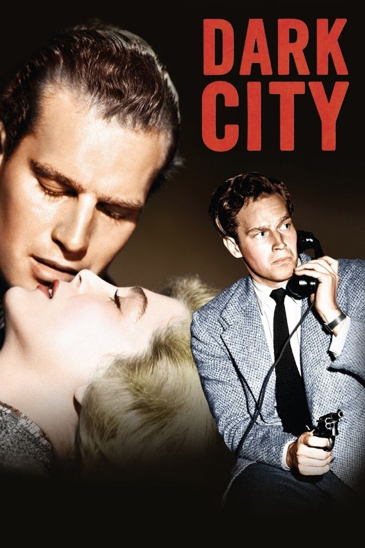 Dark City (1950 film) movie poster