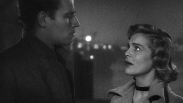 Dark City (1950 film) movie scenes