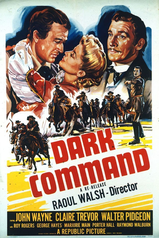 Dark Command movie poster