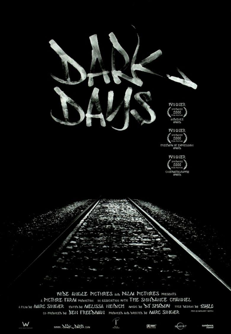Dark Days (film) movie poster