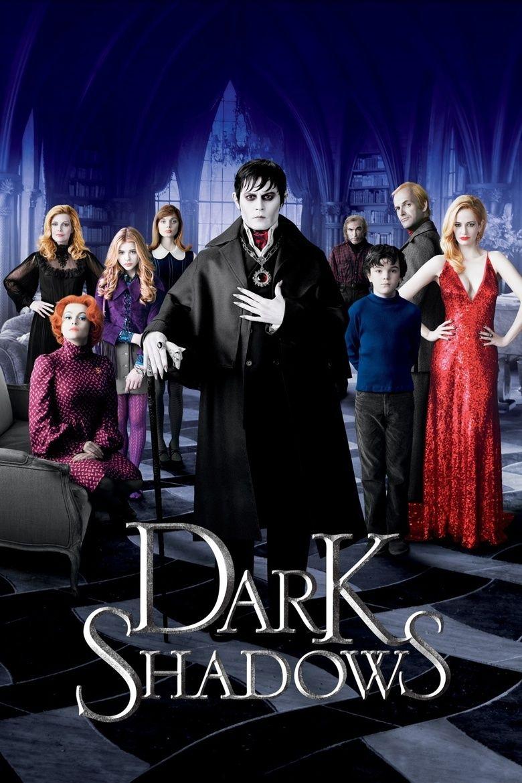 Dark Shadows (film) movie poster