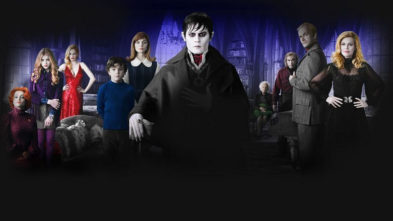 Dark Shadows (film) movie scenes