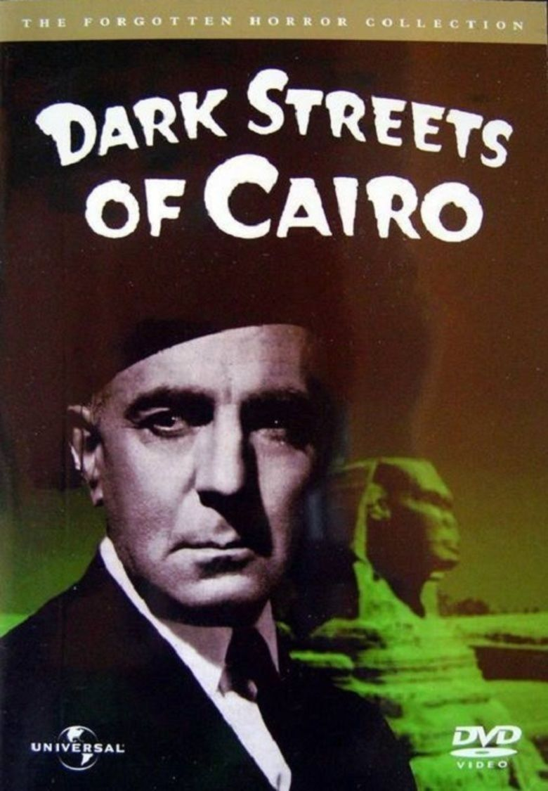 Dark Streets of Cairo movie poster