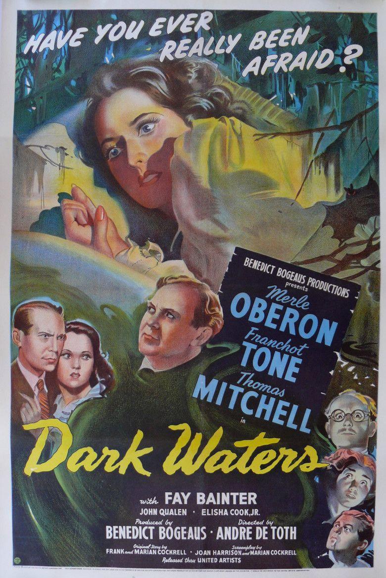 Dark Waters (1944 film) movie poster