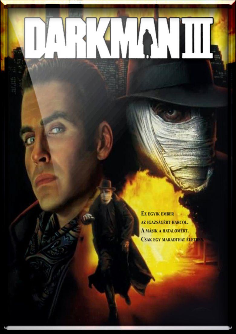 Darkman III: Die Darkman Die movie poster