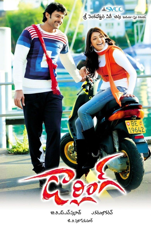 Darling (2010 film) Starring Prabhas & Kajal (a movie poster)
