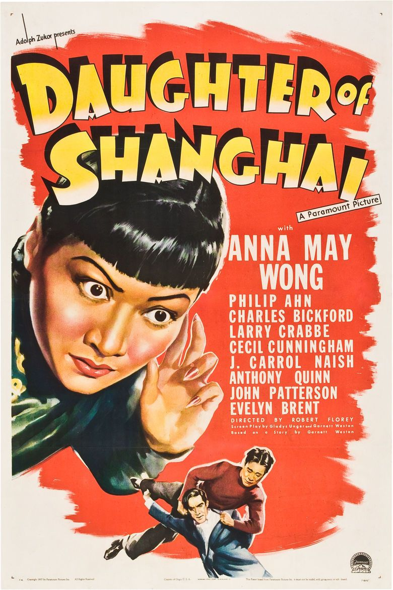 Daughter of Shanghai movie poster