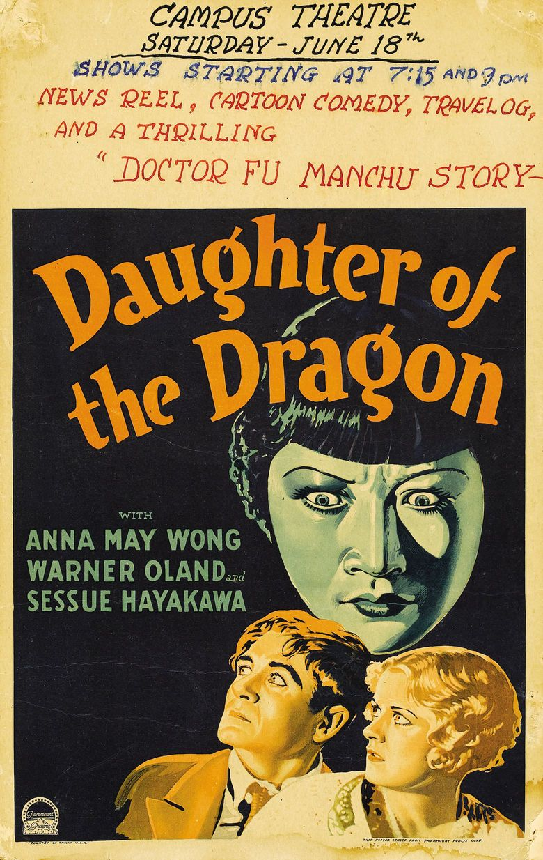 Daughter of the Dragon movie poster