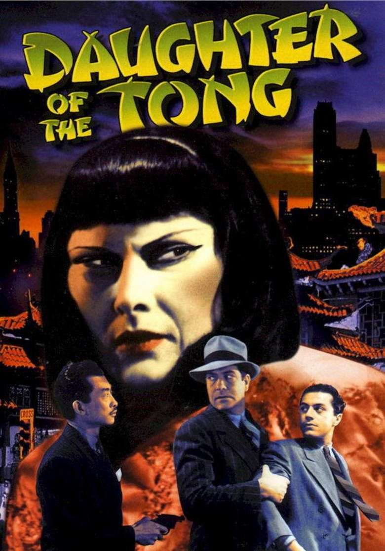 Daughter of the Tong movie poster