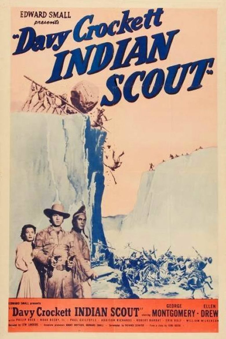 Davy Crockett, Indian Scout movie poster