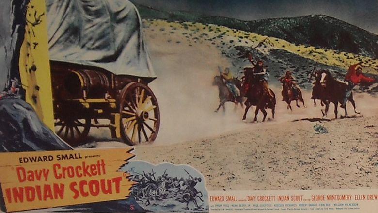 Davy Crockett, Indian Scout movie scenes