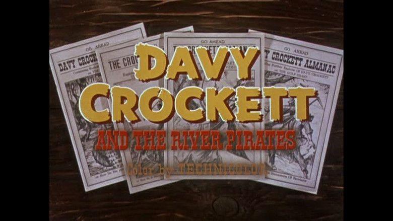 Davy Crockett and the River Pirates movie scenes
