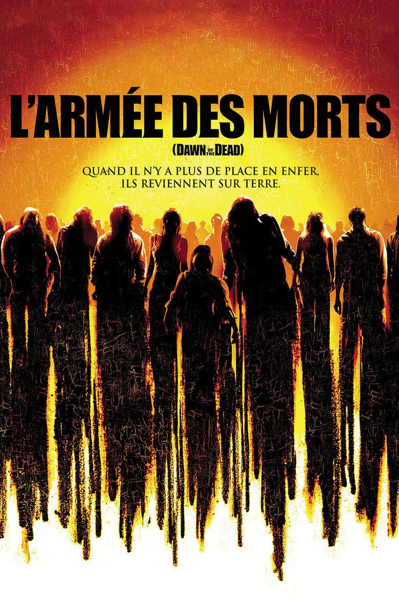 Dawn of the Dead (2004 film) movie poster